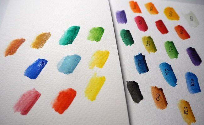 Moje akvarelové malování